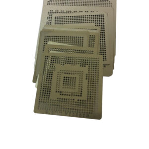 Kit Stencil Reballing Solda Bga 219 Pçs Games, Notebooks, Celular