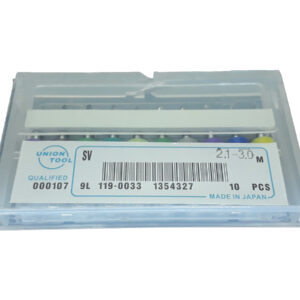 Kit Brocas 2.1 – 3.0 mm Pcb Cnc Router Metal Duro 10pç