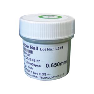 Esferas Bga Reballing Com Chumbo 0,65mm Com 250mil