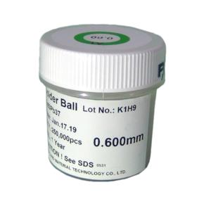 Esferas Bga Reballing Com Chumbo 0,60mm Com 250mil