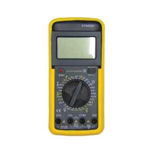 Multímetro Digital Profissional Com Capacímetro Dt 9205A