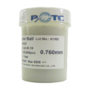 Esferas BGA Reballing Com Chumbo 0,76mm Com 250mil