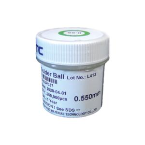 Esferas Bga Reballing Com Chumbo 0,55mm Com 250.000