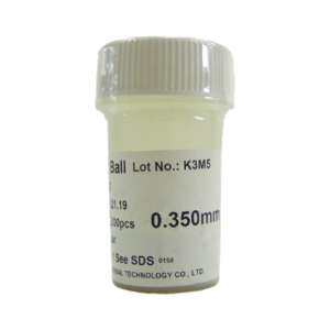 Esferas Bga Reballing Com Chumbo 0,35mm Com 250mil
